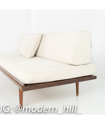 Mid Century Modern Danish Style Daybed Sofas - Matching Pair