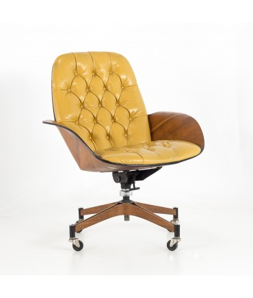 Peter Mid Century Modern Leather Recliner Chair | Leather
