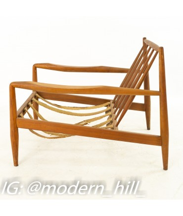 Adrian Pearsall for Craft Associates Mid Century Spindle Back Lounge Chair