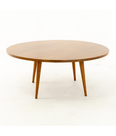 Paul McCobb for Planner Group Mid Century Teak Round Coffee Table