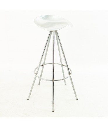 Pepe Cortes for AMAT Mid Century Chrome Jamaica Stool