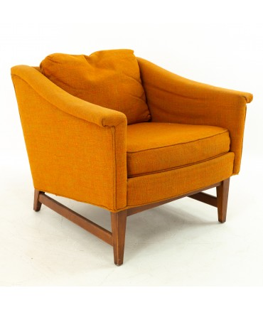 Selig Showcase Mid Century Upholstered Lounge Chair