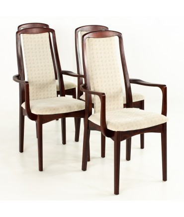 Breox Mobler Snickerinytt Rosewood Mid Century Dining Chairs - Set of 4