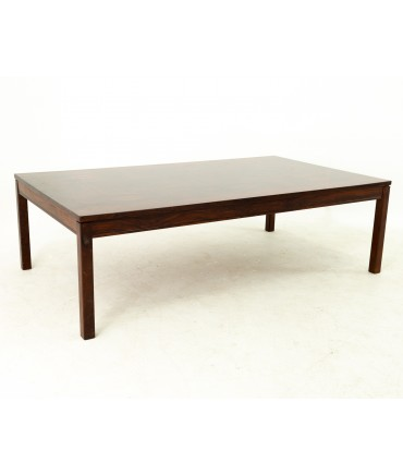 Heggen Mid Century Rosewood Patchwork Coffee Table