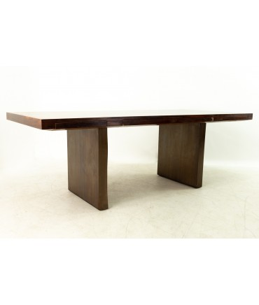 Edward Wormley for Dunbar Mid Century Rosewood and Bronze Executive Desk