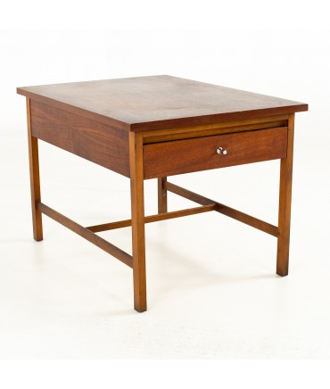 Paul McCobb for Lane Delineator Mid Century Walnut Side End Table