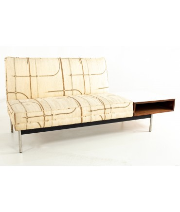 George Nelson for Herman Miller Style Mid Century Sofa Settee and Side Table