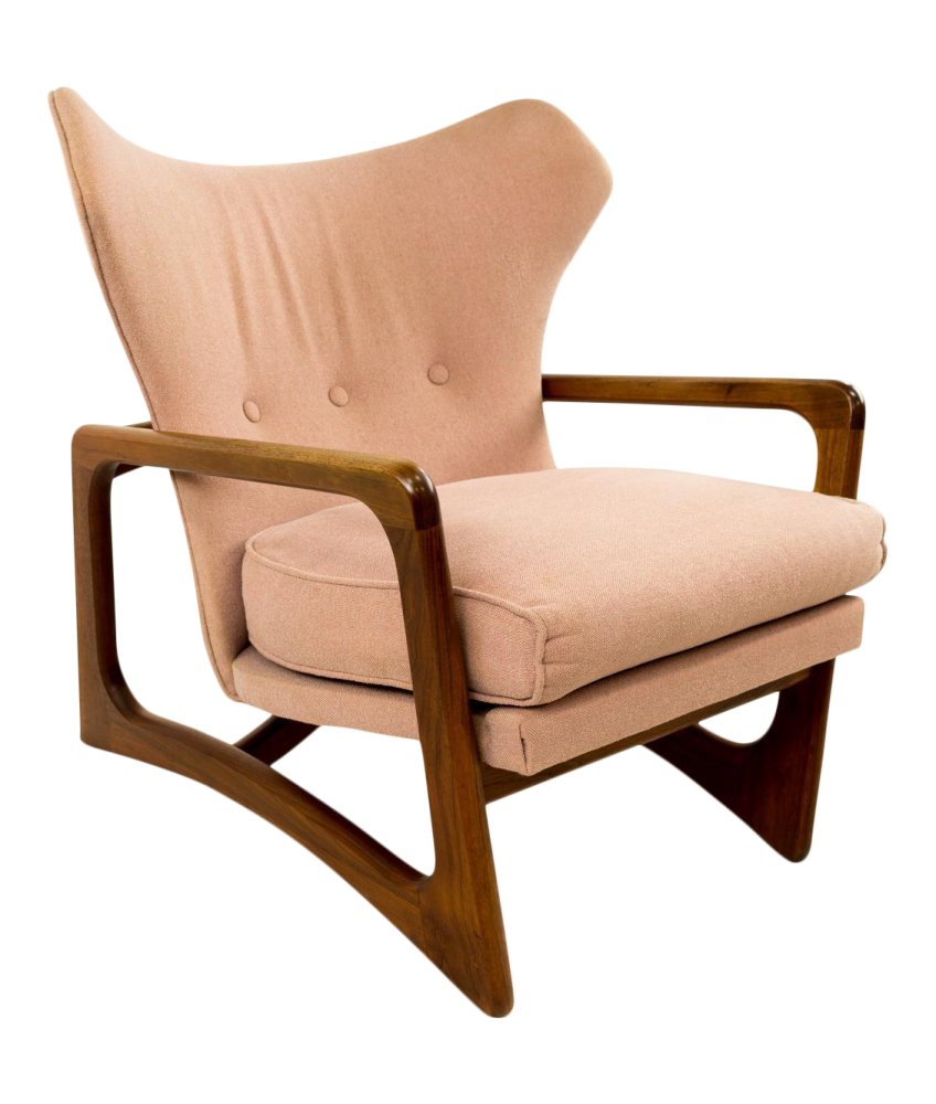 Adrian Pearsall 2466-c Wingback Lounge Chair