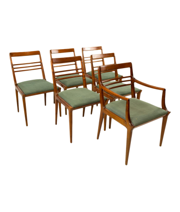 Mid-Century Dining Chair Set of 6