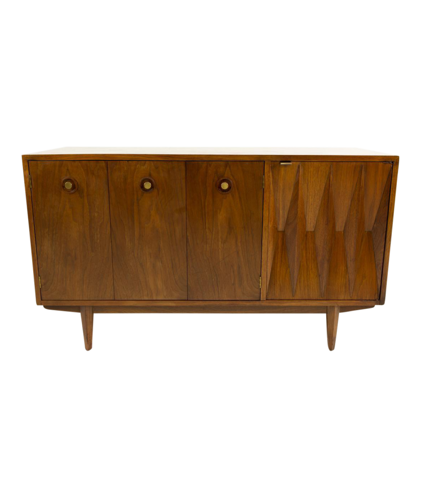 American of Martinsville Diamond Credenza Sideboard