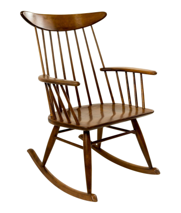 Russel Wright for Conant Ball Mid-Century Rocker
