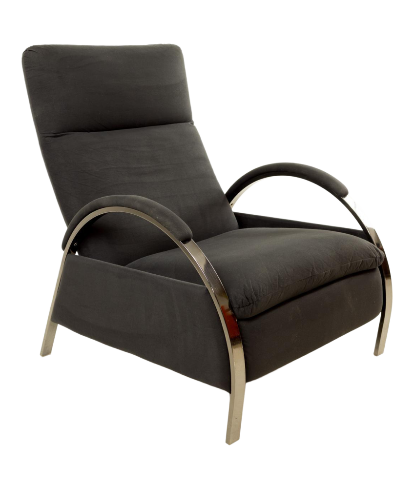 Milo Baughman for Design Institute of America DIA Reclining Lounge Chair