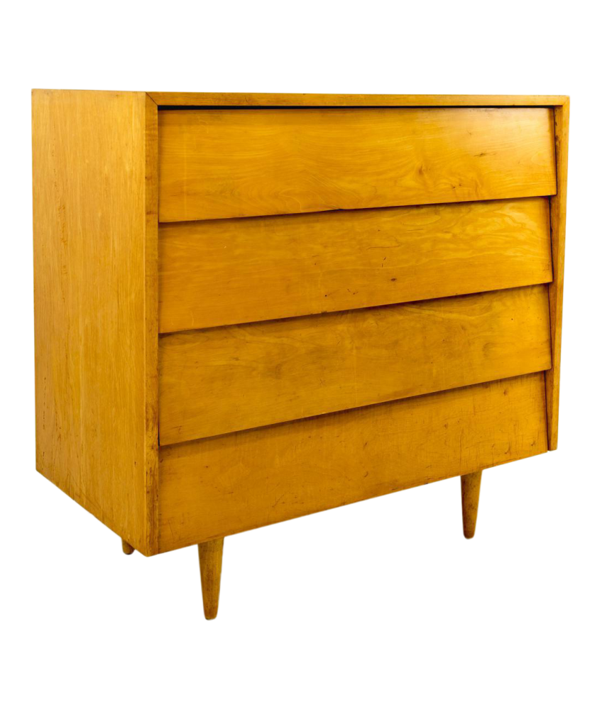 Early Florence Knoll 36-inch Dresser Chest of Drawers
