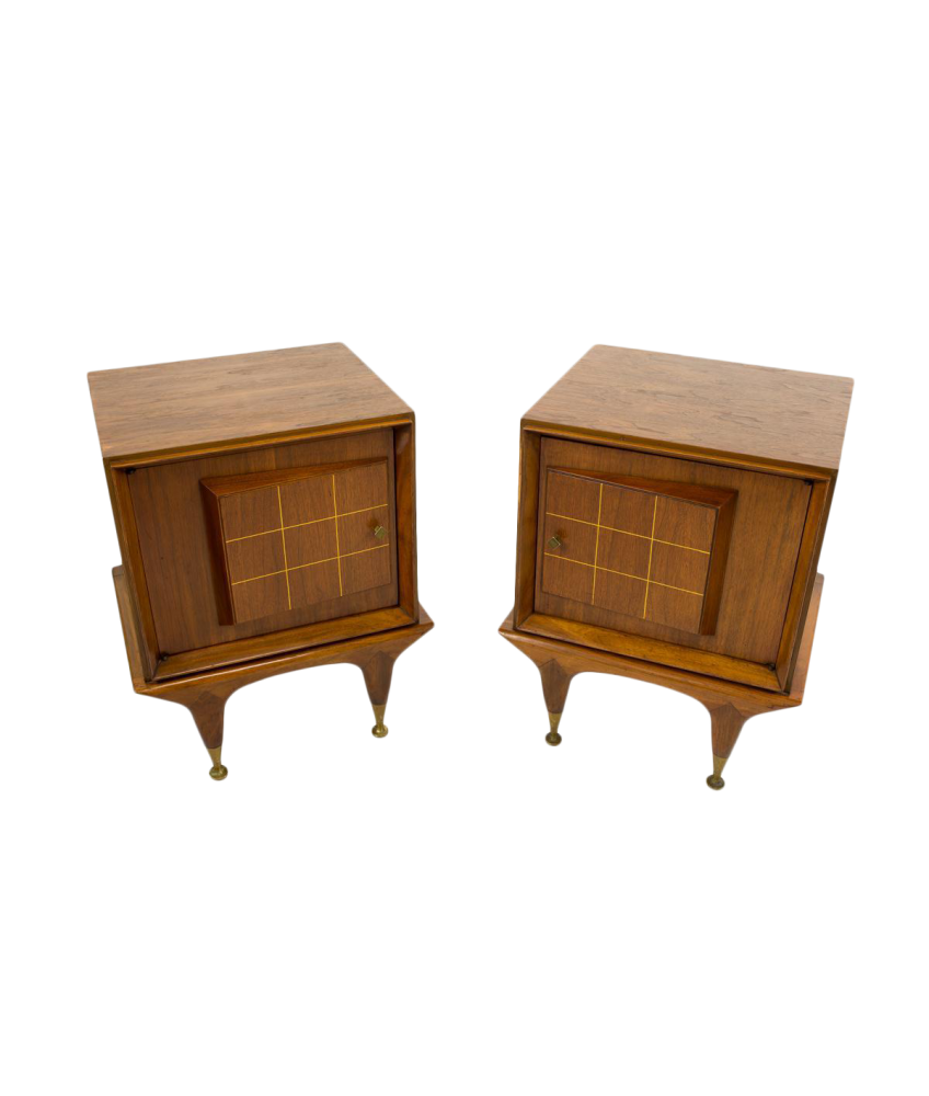 Mid Century Side Tables - American of Martinsville