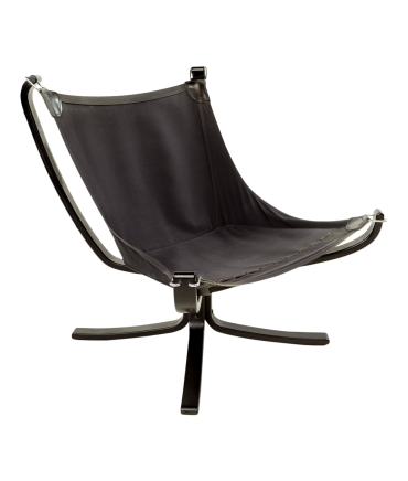Sigurd Ressell Lowback Falcon Lounge Chair