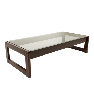 Percival Lafer Brazillian Rosewood Coffee Table
