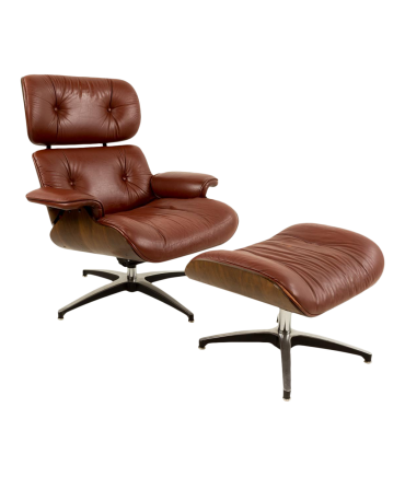 Plycraft Eames Style Lounge Chair and Ottoman
