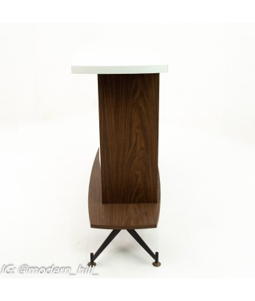 Mid Century Stand Up Bar