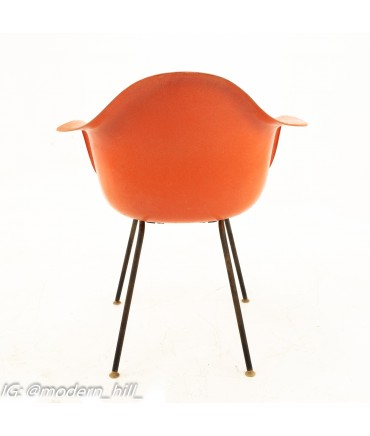 Early Herman Miller Mid Century Salmon Shell Chairs - Pair