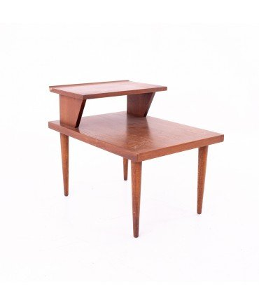 Merton Gershun for American of Martinsville Mid Century 2 Tier Side End Table