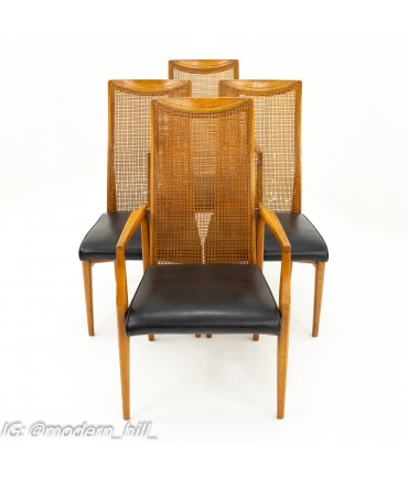 Drexel Mid Century Dining Chairs - Set of 4