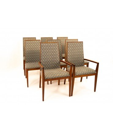 Dillingham Mid Century Dining Chairs - Set of 8
