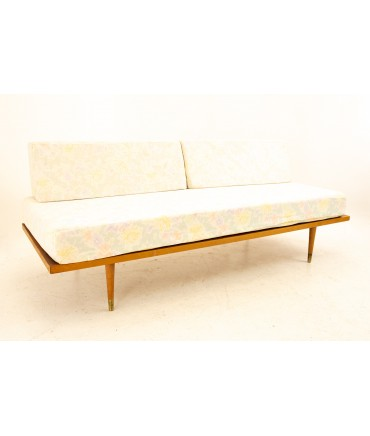 George Nelson for Herman Miller Style Mid Century Walnut Daybed