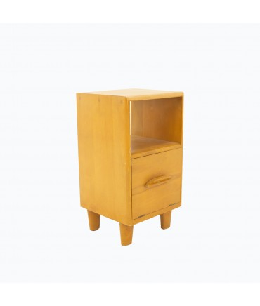 Heywood-Wakefield Mid Century Maple Nightstand
