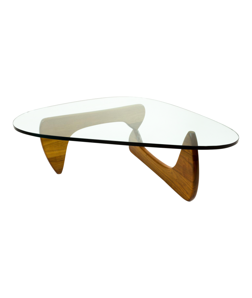Early Isamu Noguchi for Herman Miller Glass Coffee Table