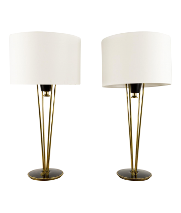 Gerald Thurston for Stiffel Table Lamps - Pair