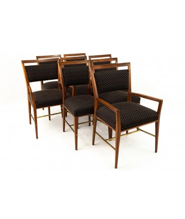Paul McCobb For Calvin Group Mid Century Dining Chairs - Set of 8