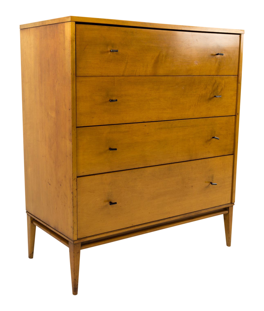 Paul McCobb for Planner Group Blonde Highboy Dresser
