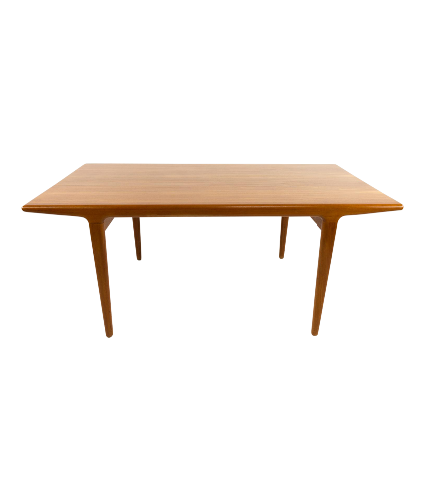 Niels Moller Teak Hidden Leaf Dining Table - Teak dining table with leaf