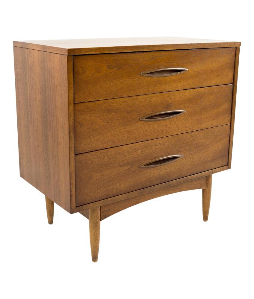 Broyhill Sculptra 30-inch 3 Drawer Nightstand