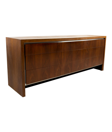 Milo Baughman for Dillingham Lowboy Chest of Drawers