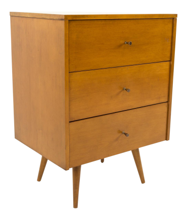 Paul McCobb for Planner Group Blonde Nightstand