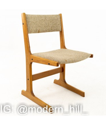 Gangso Mobler Style Mid Century Teak Dining Chairs - Set of 4