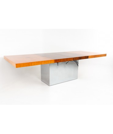 Milo Baughman for Thayer Coggin Mid Century Expanding Dining Table