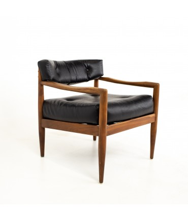 Adrian Pearsall Mid Century Walnut Occasional Lounge Chair