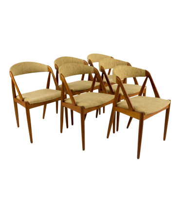 Kai Kristiansen Model 31 for Schou Andersen Dining Chairs - Set of 6