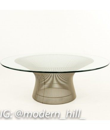 Warren Platner Furniture Intended Warren Platner For Knoll Midcentury Coffee Table