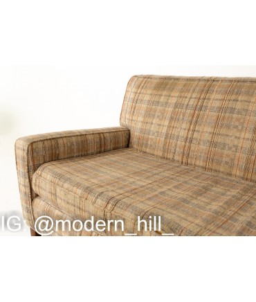 Paul McCobb Planner Group Mid Century 2 Piece 4 Seater Sectional Sofa