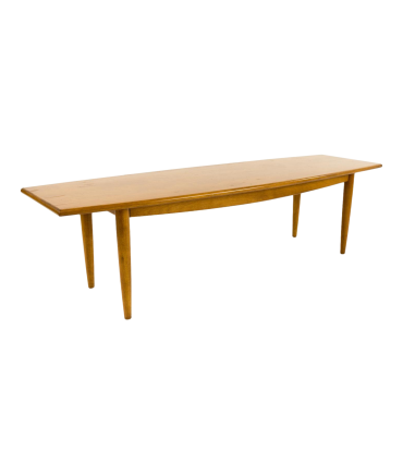 Russel Wright for Conant Ball Surfboard Style Coffee Table
