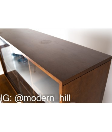 Paul McCobb for Planner Group Mid Century Solid Wood Sideboard Credenza Buffet and Hutch