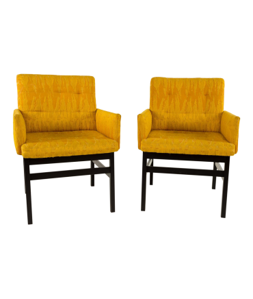 Harvey Probber Style Occasional Lounge Chairs - Pair