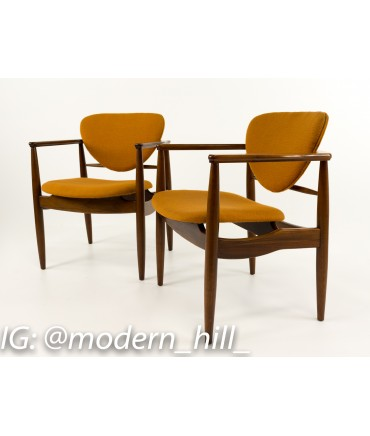 sc 1 st  Modern Hill Furniture & Finn Juhl Style Mid-Century Modern Chairs - Pair