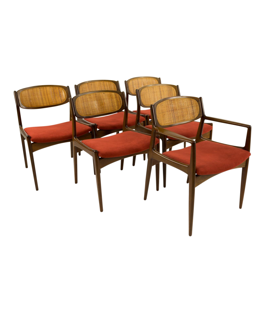 Kofod Larsen for Selig Mid-Century Dining Chairs - Set of 6