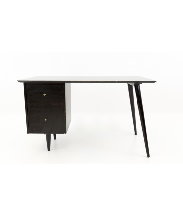 Paul McCobb for Planner Group Black Mid Century Desk