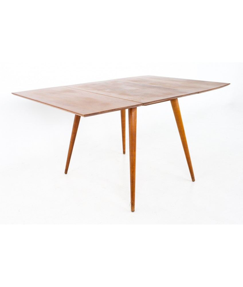 Paul McCobb Planner Group Mid Century Drop Leaf Dining Table