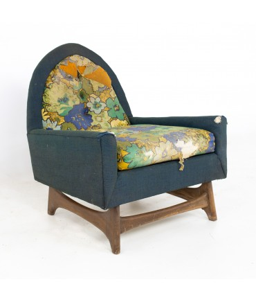 Kroehler Adrian Pearsall Style Mid Century Lounge Chair